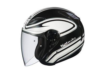 瀧澤部品 OGK AVAND II STAID 3/4半罩式安全帽