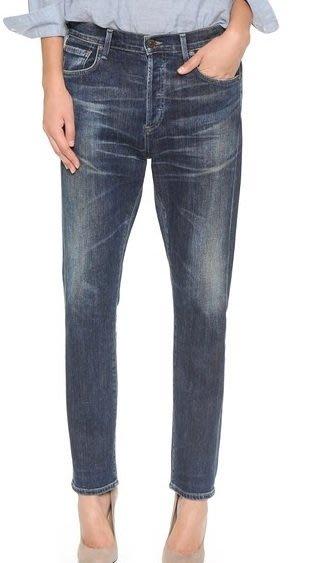 ◎美國代買◎Citizens of Humanity Corey Relaxed boy jeans高腰大腿不貼合牛仔褲