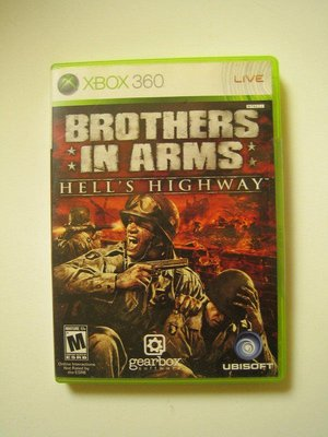 Xbox360 榮耀戰場 地獄棧道 (ONE可玩) Brothers in Arms