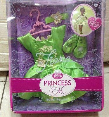 愛卡的玩具屋㊣迪士尼My First經典童話公主模擬手抱娃娃 Tiana公主芭蕾舞團演奏裙