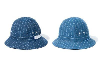 { POISON } DeMarcoLab PROCEED RVSB. DENIM BELL HAT 薄丹寧雙面漁夫帽