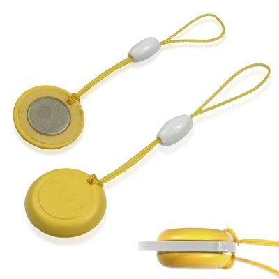【MOGICS】 跑步 路跑 自行車 號碼布磁扣 不讓別針破壞衣服布料  強力磁扣 固定-黃色
