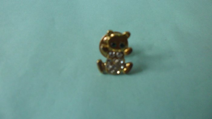 紫色小館9-------熊胸針