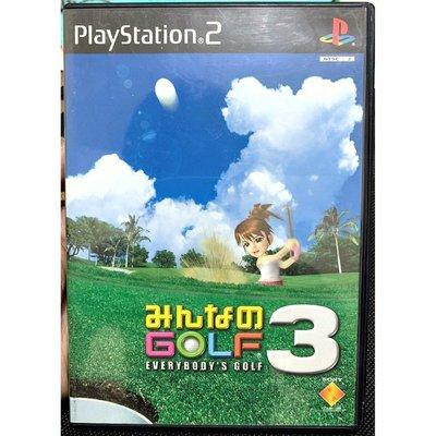 幸運小兔 PS2遊戲 PS2 全民高爾夫 3  PlayStation2 日版 D2