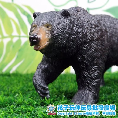 軟質美洲黑熊.軟膠動物.RECUR - 孩子玩伴