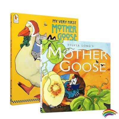 英文原版繪本 My Very First Sylvia Long's Mother Goose 2冊套鵝媽媽童謠兒歌磨耳