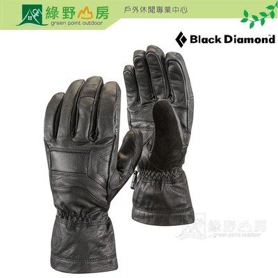 綠野山房》Black Diamond美國 BD KINGPIN冰雪保暖手套 登山 滑雪手套 黑色 801422-Bla