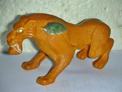 A集.(企業寶寶玩偶娃娃)少見2009年麥當勞發行冰原歷險記3-恐龍現身劍齒虎:狄亞哥公仔!