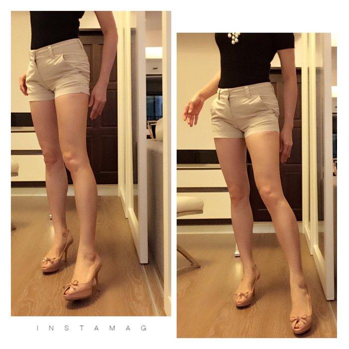 *Beauty*日本國民品牌UNIQLO米卡其色棉料短褲 12-13號