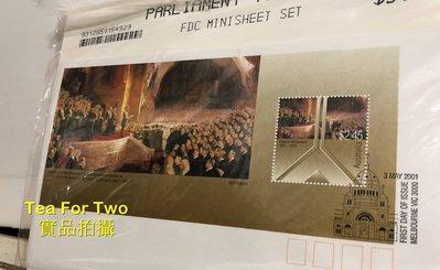 出清特賣 - (全新) 澳洲2001年-首日封/郵票