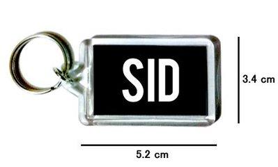 〈可來圖訂做-鑰匙圈〉SID 壓克力雙面鑰匙圈 (可當吊飾)