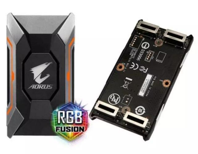 【電腦天堂】技嘉 AORUS SLI HB bridge RGB (80mm 2 slot spacing) 10系列專