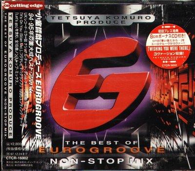 K - TETSUYA KOMURO PRODUCE - 日版 2CD - NEW EUROGROOVE CLOCK