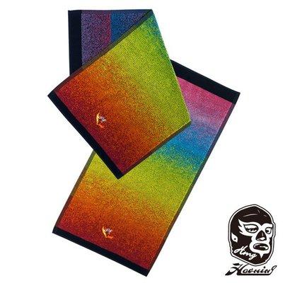 『Haoming』預購 LUCHAS HAND TOWEL 摔角運動毛巾 COLOR-B
