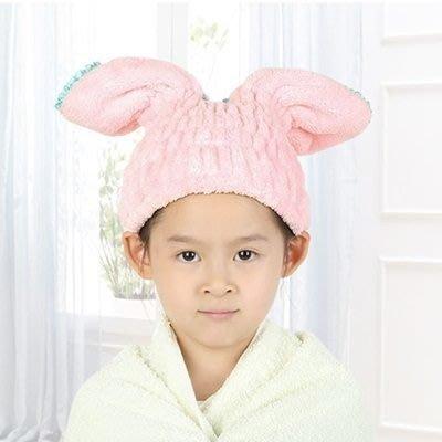 兒童乾髮帽(1入)-7倍強力吸水速乾雙面珊瑚絨乾髮帽73pp86[獨家進口][米蘭精品]