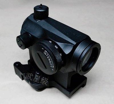 台南 武星級 T1 增高 內紅點 ( 綠點 金屬快拆 定標器 紅外線 外紅點 快瞄 狙擊鏡 瞄準鏡 紅雷射 綠雷射 瞄具