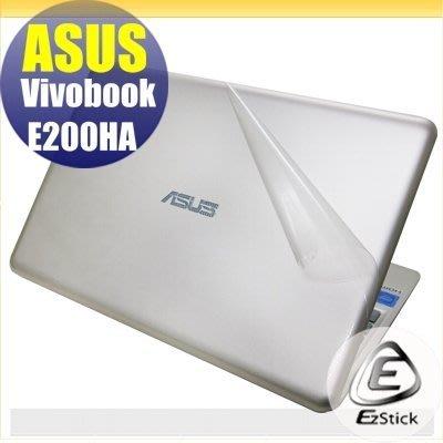 【Ezstick】ASUS E200 E200HA  二代透氣機身保護貼(上蓋、鍵盤週圍及底部 3片式)DIY 包膜 台北市