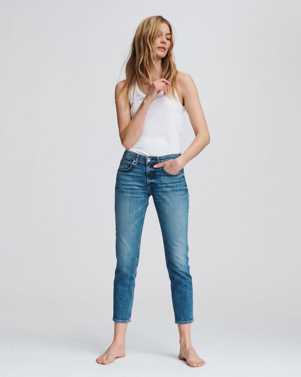 [在澳現貨] 全新正品RAG & BONE Dre Low Rise Slim Boyfriend Jeans 現貨27