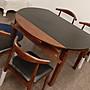 *楴傢*傢俱* 全實木餐椅組 清貨 清貨 配石面 1桌+4椅