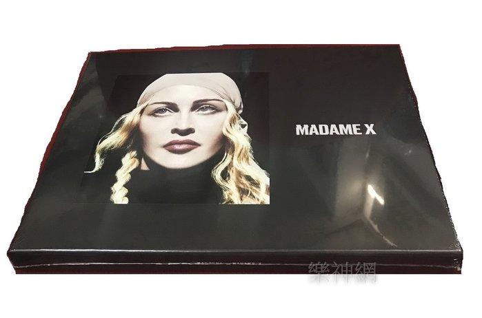 瑪丹娜Madonna  X夫人Madame X Deluxe Box Set(德版2 CD+7吋黑膠+卡帶) 全新