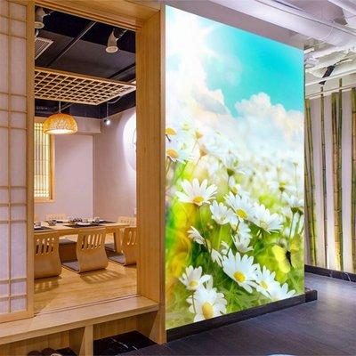客製化壁貼 店面保障 編號F-691 小菊花蝴蝶 壁紙 牆貼 牆紙 壁畫 背景牆 星瑞 shing ruei