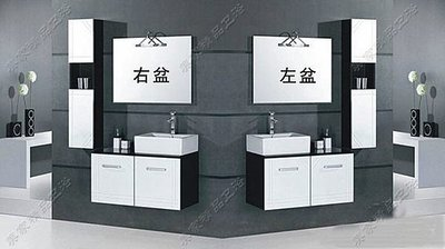 FUO衛浴:100公分 黑白配 百分百...