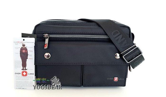 【YOGSBEAR】 OVERLAND 十字軍 側背包 平板袋 郵差包 公事包 3184(6021) 小
