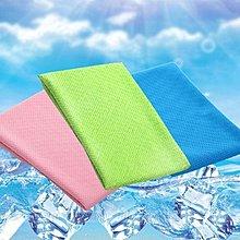 夏日熱銷75*30cm 瞬間涼感冰涼巾!運動冰巾 冰毛巾頭巾急速降溫消暑 超涼快 現貨 涼感巾 冷感巾【神來也】