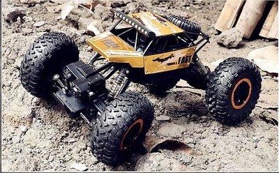 『越野車』超大合金版攀爬車 四驅車 1:16遙控玩具 1:12模型 越野車 遙控車充電 賽車玩具車