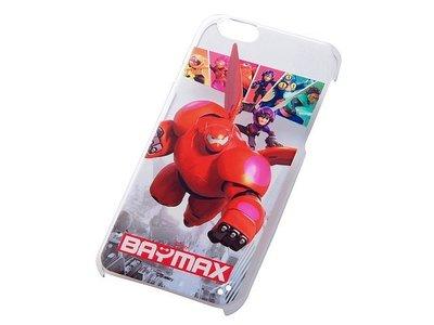 尼德斯Nydus~* 日本迪士尼 大英雄天團 杯麵 大集合 硬殼 透明側邊 手機殼 4.7吋 iPhone6