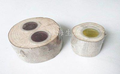 【綠海生活】 ( 雙孔+單孔 / 特價 ) 果凍皿 昆蟲用果凍皿 昆蟲木 甲蟲木 ~A63001827