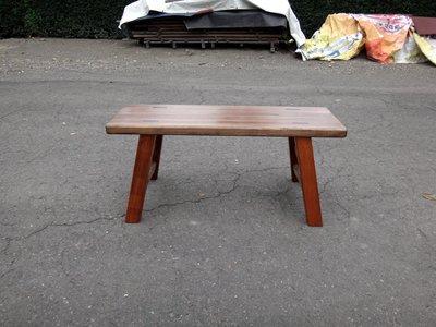 C013 {崙頂傳統原木家具行}~傳統杉木長板凳 叫寬 接受訂做 訂色 有現貨