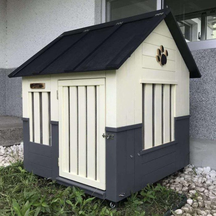 可配合建築設計的狗屋