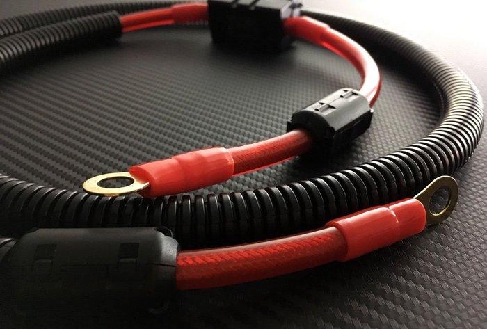 發電機電瓶的救星 電壓提升 TOYOTA CHR PREVIA YARIS VIOS 專用 火龍線