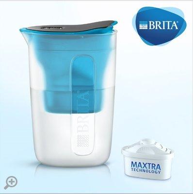 【清淨淨水店】德國BRITA fill&enjoy FUN/ 酷樂濾水壺 /酷樂壺1.5L(藍色)1壺1芯價780元。