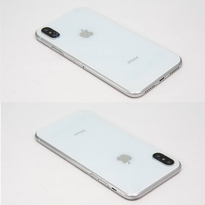 【GooMea】玻璃前後 塑膠框Apple蘋果 iPhone X 5.8吋模型展示Dummy樣品假機道具上繳交差影片