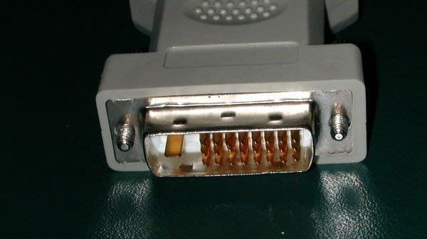 ...點子電腦-北投...顯卡DVI-D(24+1PIN)轉為D-SUB VGA 15PIN轉接頭【線材】55元