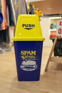 (I LOVE樂多)SPAM 午餐肉 20L 垃圾桶