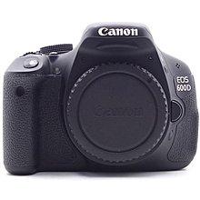 【台中青蘋果】Canon EOS 600D 單機身 二手 APS-C 單眼 相機 快門次數約7,455 #56686