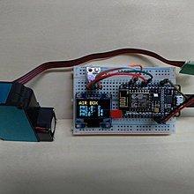 【3dg】現貨 PM2.5 空氣盒子 空氣感測器 濕度 溫度 DIY套件 NodeMCU OLED BME280