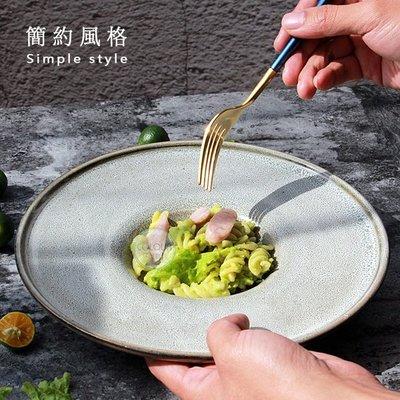 【創意歐式陶瓷西餐湯盤】碗盤湯盤 美食盤 草帽盤 深盤 飛碟盤 凹造型 餐盤 宴會  ※ COLOUR歐洲生活家居 ※