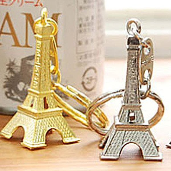 《Jami Honey》【JD0855】復古迷你巴黎 艾菲爾鐵塔造型旅行飾品 鑰匙圈 『不挑款』