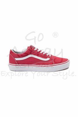 《Go Astray®》Vans Old Skool Red/White VN000VOKDIC 紅白基本款