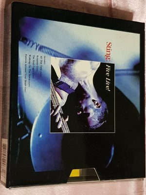 R西洋男(二手CD)史汀~STING~TEN SUMMONERS +LIVE~2CD~盒裝版~