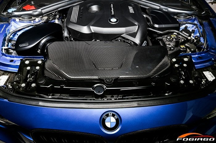 ☆光速改裝精品☆Fogiago BMW B48 120i/125i/220i/320i/330i/425 碳纖維引擎蓋板