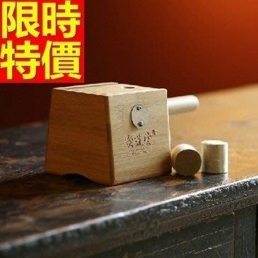 艾草針灸盒 艾灸器具-木製單孔盒溫隨身灸盒多功能65j15[獨家進口][米蘭精品]