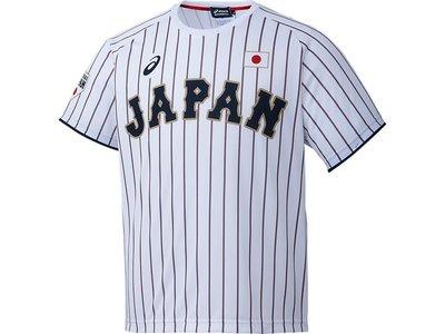 貳拾肆棒球-日本直送-侍JAPAN日本代表野球隊短袖主場練習衣/Asics製作