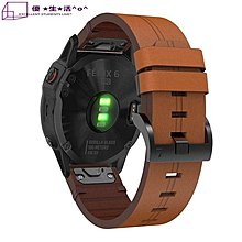 限時優惠 清風數碼 Garmin 佳明 Approach S60 手錶帶 頭層牛皮 瘋馬紋 真皮腕帶 替換腕帶
