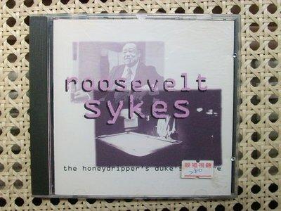CD~Roosevelt Sykes--The Honydripper's Dukes' Mixture專輯...收錄Goin' Down Slow等..曲目如圖示