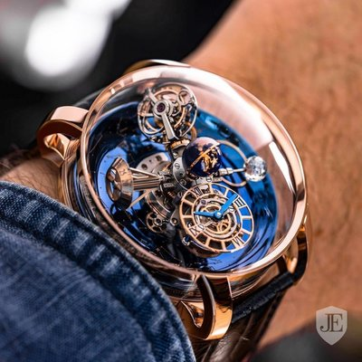 Jacob & Co. [NEW][LIMITED 18 PIECE] Astronomia Sky Tourbillon AT110.40.AA.WD.A
